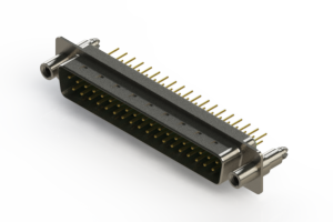 627-M37-320-GN6 - Vertical D-Sub Connector