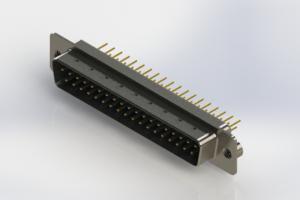 627-M37-320-LN2 - Vertical D-Sub Connector