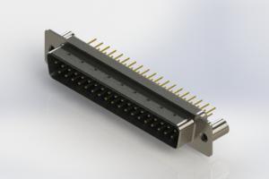 627-M37-320-LN3 - Vertical D-Sub Connector