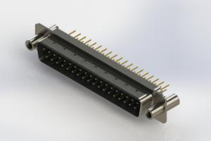627-M37-320-LT4 - Vertical D-Sub Connector