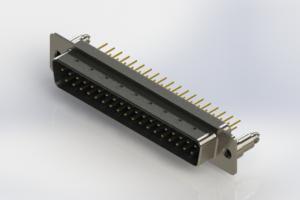 627-M37-320-LT5 - Vertical D-Sub Connector