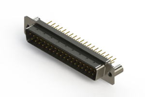 627-M37-320-WN3 - Vertical D-Sub Connector