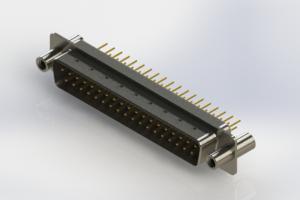 627-M37-320-WN4 - Vertical D-Sub Connector