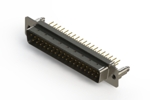 627-M37-320-WN5 - Vertical D-Sub Connector