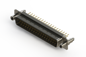 627-M37-320-WN6 - Vertical D-Sub Connector