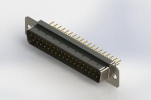 627-M37-320-WT1 - Vertical D-Sub Connector