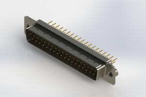 627-M37-320-WT2 - Vertical D-Sub Connector