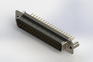 627-M37-320-WT3 - Vertical D-Sub Connector