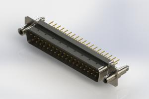 627-M37-320-WT6 - Vertical D-Sub Connector