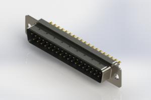 627-M37-322-LT1 - Vertical D-Sub Connector