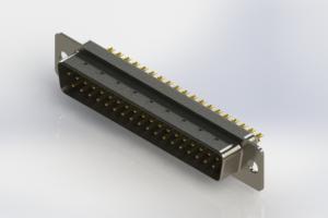 627-M37-322-WT1 - Vertical D-Sub Connector