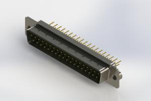 627-M37-620-GN2 - Vertical D-Sub Connector