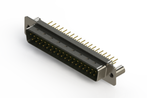 627-M37-620-GN3 - Vertical D-Sub Connector