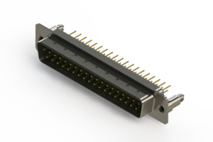 627-M37-620-GN5 - Vertical D-Sub Connector
