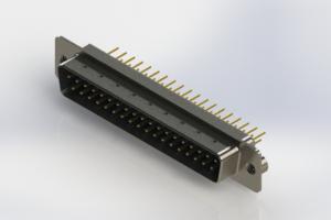 627-M37-620-LN2 - Vertical D-Sub Connector