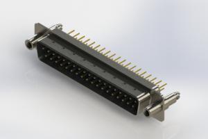 627-M37-620-LN6 - Vertical D-Sub Connector