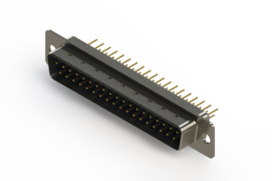 627-M37-620-LT1 - Vertical D-Sub Connector