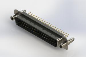 627-M37-620-LT6 - Vertical D-Sub Connector