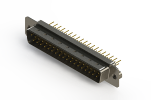 627-M37-620-WN2 - Vertical D-Sub Connector