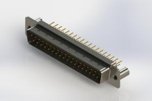 627-M37-620-WN3 - Vertical D-Sub Connector