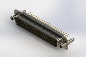 627-M37-620-WN6 - Vertical D-Sub Connector