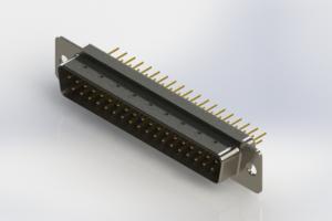 627-M37-620-WT1 - Vertical D-Sub Connector
