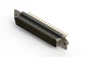 627-M37-620-WT2 - Vertical D-Sub Connector