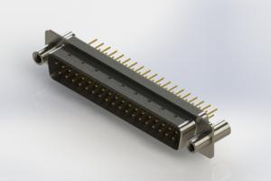 627-M37-620-WT4 - Vertical D-Sub Connector