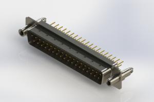 627-M37-620-WT6 - Vertical D-Sub Connector