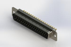 627-M37-622-LN1 - Vertical D-Sub Connector