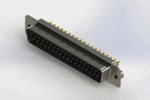 627-M37-622-LN2 - Vertical D-Sub Connector