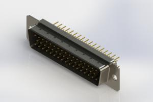 627-M50-220-BN1 - Vertical D-Sub Connector