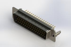 627-M50-220-BN5 - Vertical D-Sub Connector