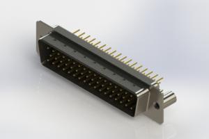 627-M50-220-BT3 - Vertical D-Sub Connector
