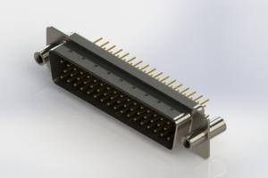 627-M50-220-BT4 - Vertical D-Sub Connector