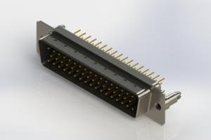 627-M50-220-BT5 - Vertical D-Sub Connector
