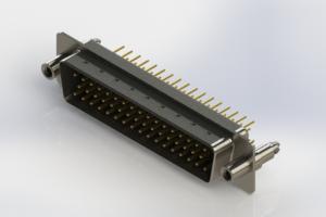 627-M50-220-BT6 - Vertical D-Sub Connector