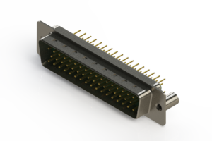 627-M50-220-GN3 - Vertical D-Sub Connector