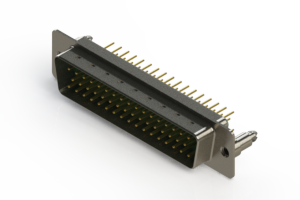 627-M50-220-GN5 - Vertical D-Sub Connector