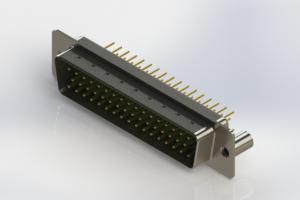 627-M50-220-GT3 - Vertical D-Sub Connector