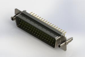 627-M50-220-GT6 - Vertical D-Sub Connector