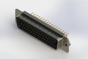 627-M50-220-LN2 - Vertical D-Sub Connector