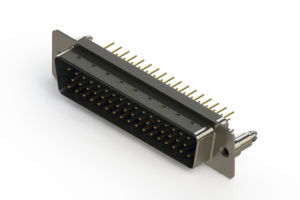 627-M50-220-LN5 - Vertical D-Sub Connector