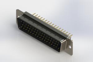 627-M50-220-LT1 - Vertical D-Sub Connector