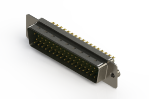 627-M50-322-GN2 - Vertical D-Sub Connector