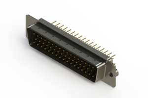 627-M50-620-BT2 - Vertical D-Sub Connector