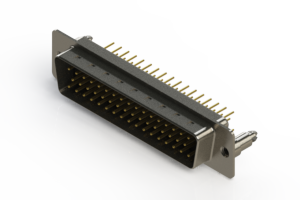 627-M50-620-BT5 - Vertical D-Sub Connector