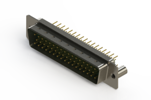 627-M50-620-GN3 - Vertical D-Sub Connector