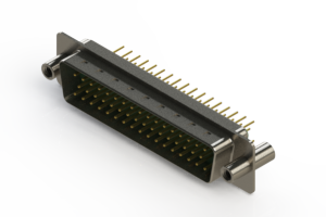 627-M50-620-GN4 - Vertical D-Sub Connector