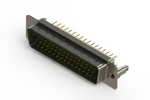 627-M50-620-GT5 - Vertical D-Sub Connector